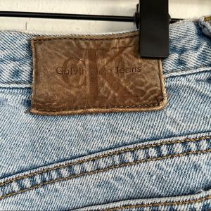 Vintage 90s CK jeans double stone washed